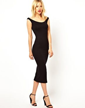 ASOS Bardot Bodycon Dress