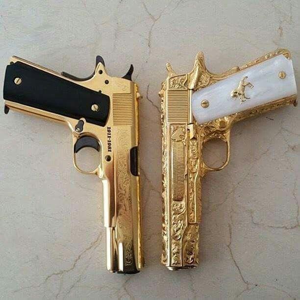 Ebony and ivory guns real