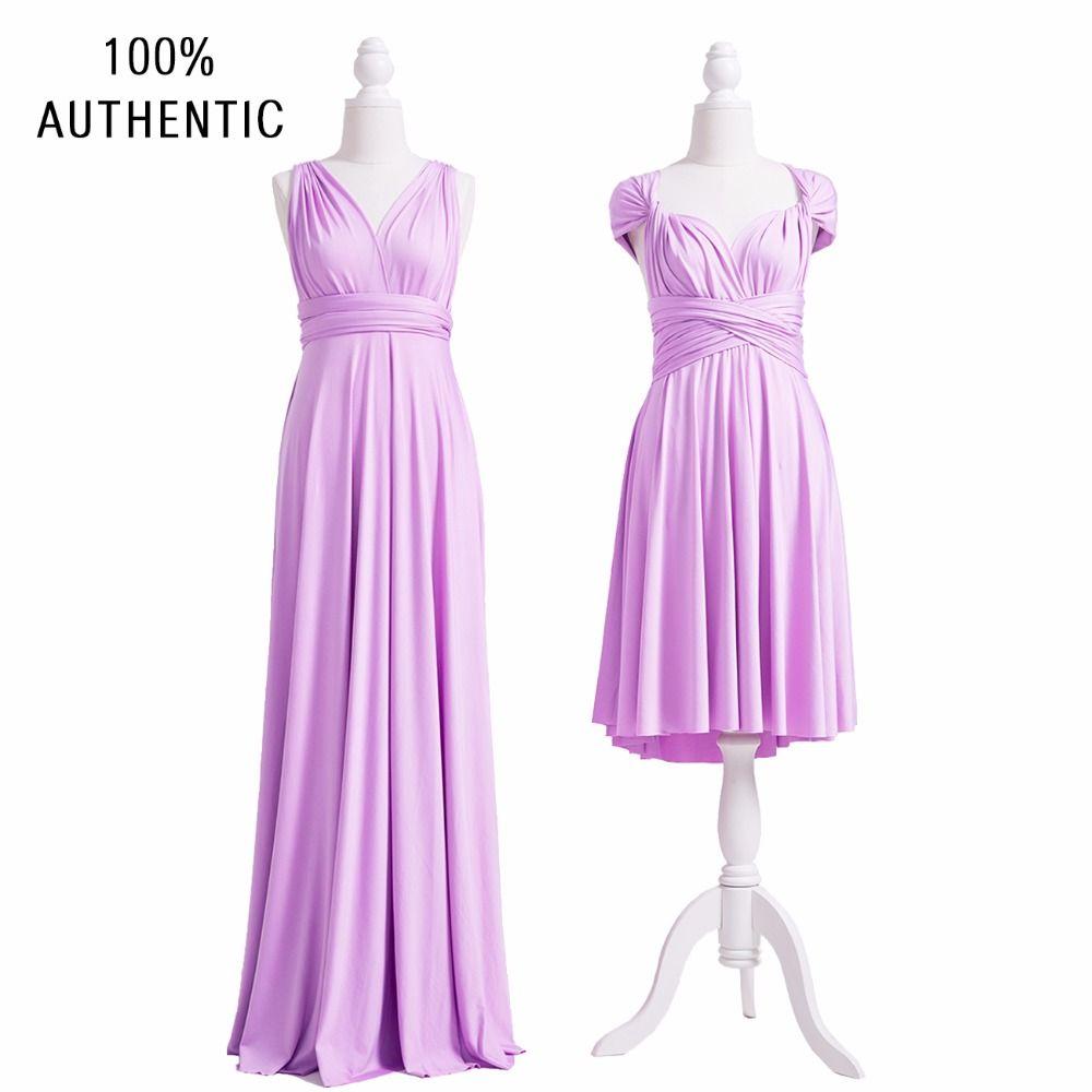 Lavender Bridesmaid Dress Infinity Short Long Plus Size Maxi Convertible Multi Way Twist Wrap: Funny Purple Wedding Dress At Websimilar.org