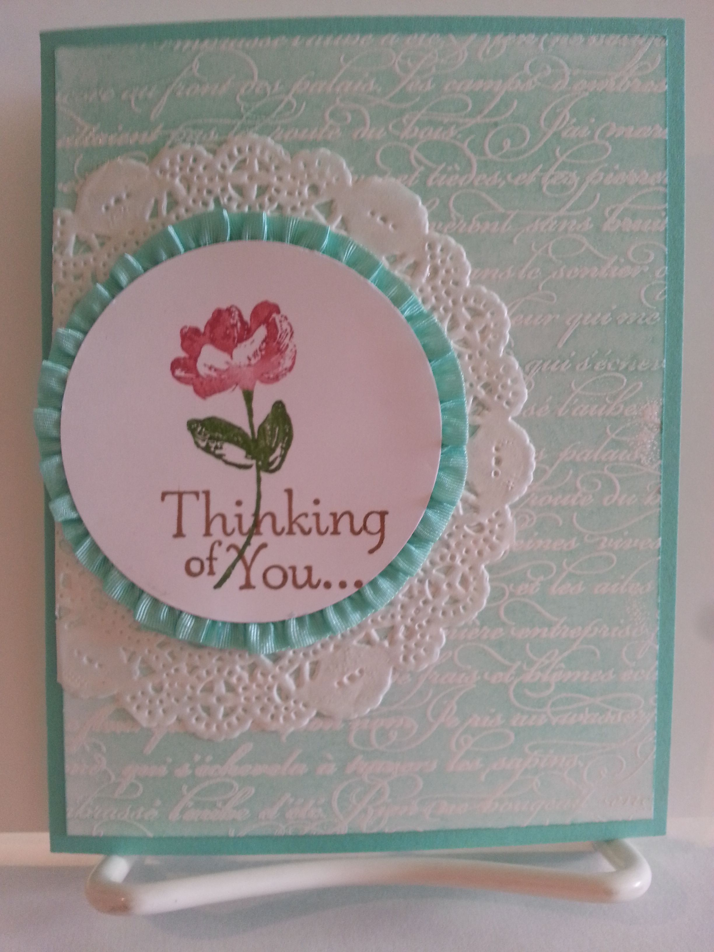 Emboss Resist Technique, Coastal Cabana Cardstock