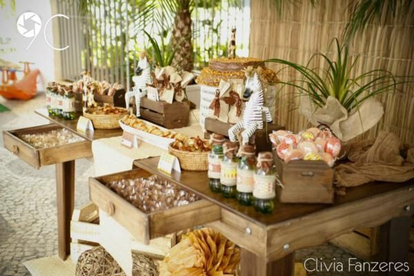 African Theme Party Decorations Safari Themed Via
