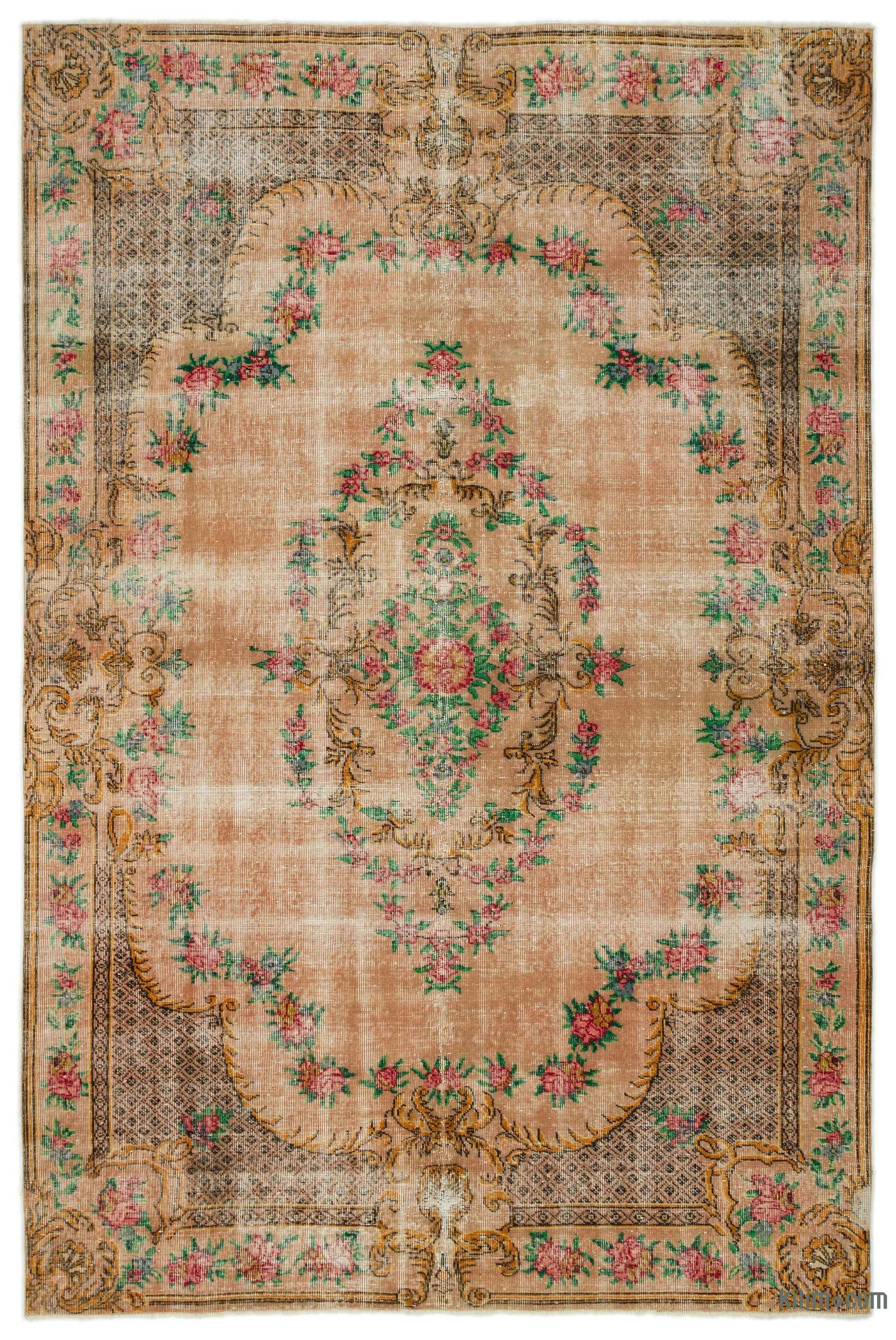 Turkish Vintage Area Rug 6 9 X 10 1 81 In X 121 In In 2020
