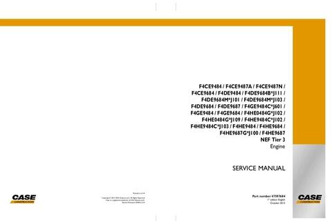 Download Case F4ce9484 F4ce9487a F4ce9487n F4ce9684 F4de9484 F4de9684b J111 To F4he9484 F4he9684 F4he9687g J100 F4he9687 Nef Tier 3 Engine Workshop Service Repa Repair Manuals Repair Manual