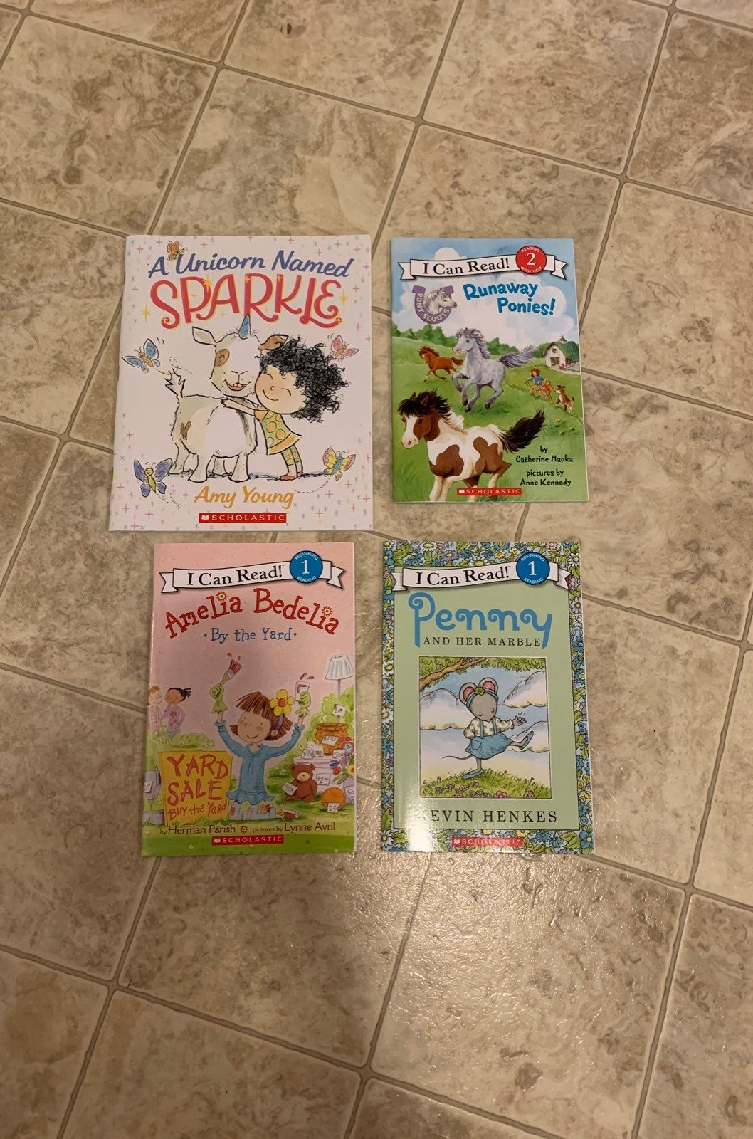 This Listing Is For Brand New 4 Scholastic Kids Reading