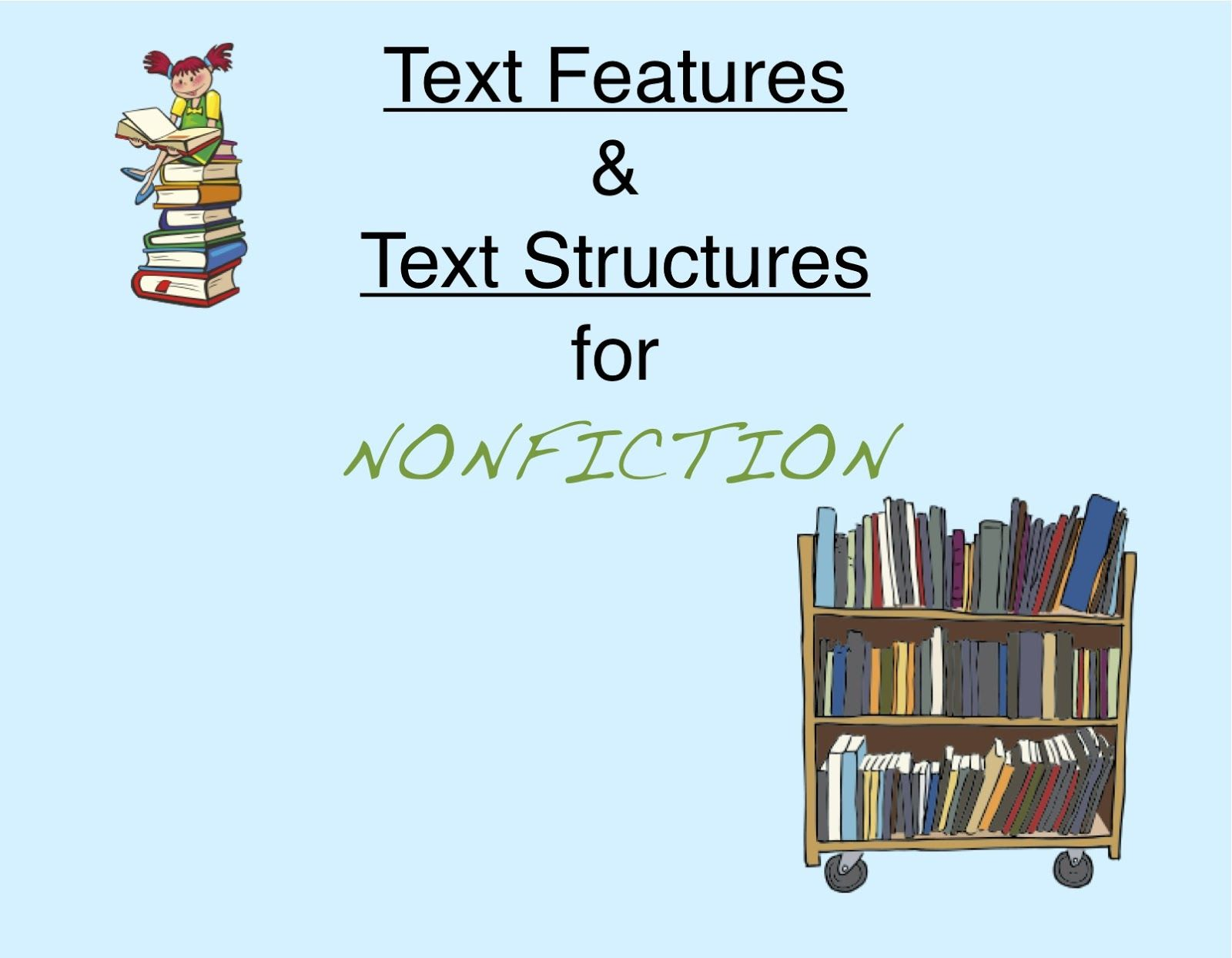 Teach Students About Common Text Features For Nonfiction