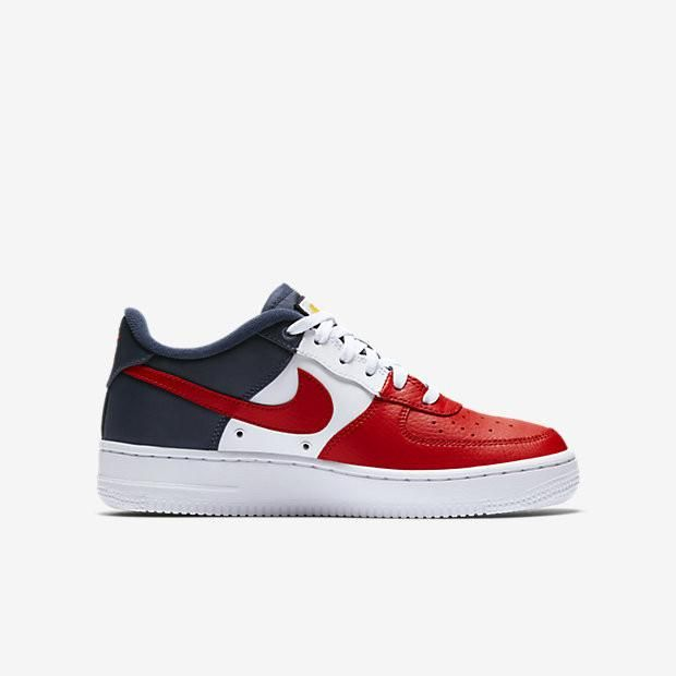 Nike air force 1 lv8 university redmidnight navy
