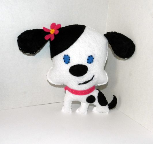 Felt Dalmation Dog, starting at $8 in today's Global Bazaar @ 3AM PT.