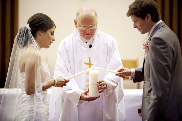 unity candle ceremony at your wedding