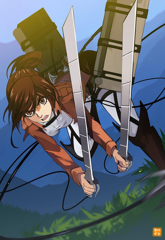 Sasha Braus Attack On Titan Attack On Titan Season Attack On Titan English Anime