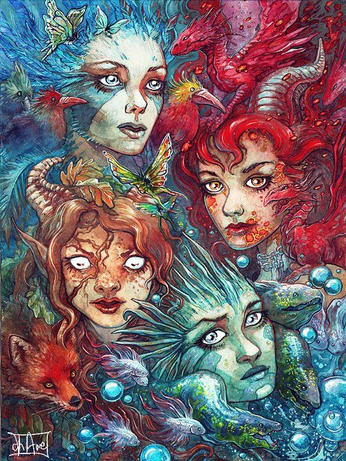 4 Elements Of Art : The four elements by morgan chane deviantart art in