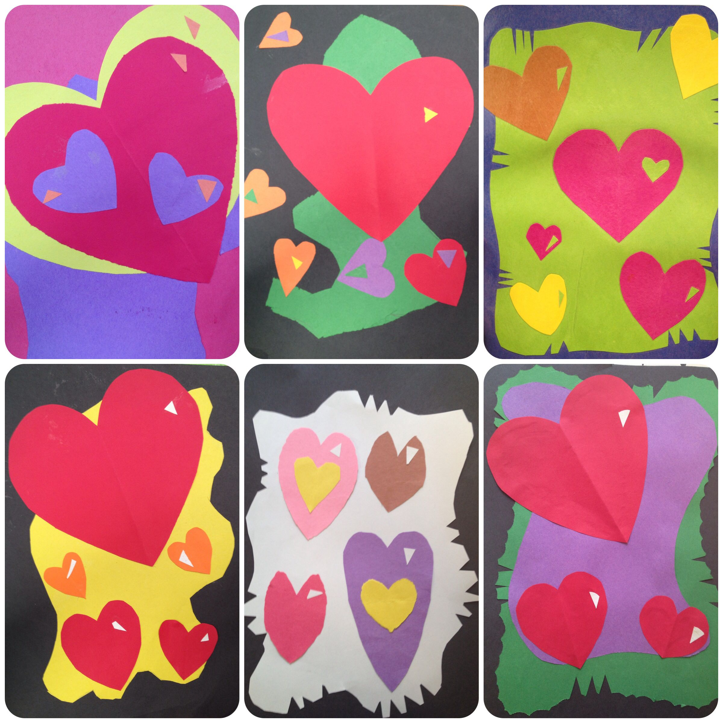 Valentines Day Cards Art Lesson Project