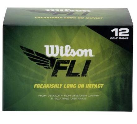Wilson FLI Golf Balls 12-Pack