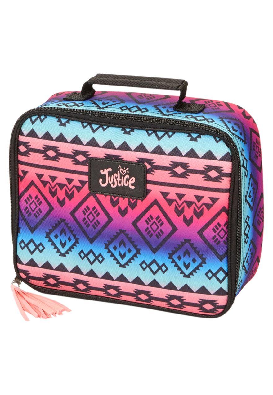 328237413d Multi Tribal Lunch Tote. Multi Tribal Lunch Tote Girl Backpacks