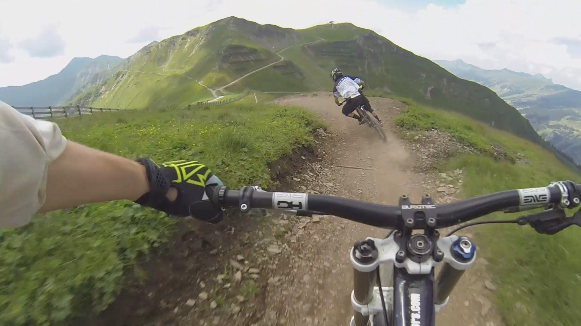 X Line Saalbach Non Stop Run By Downhill Rangers Com Video