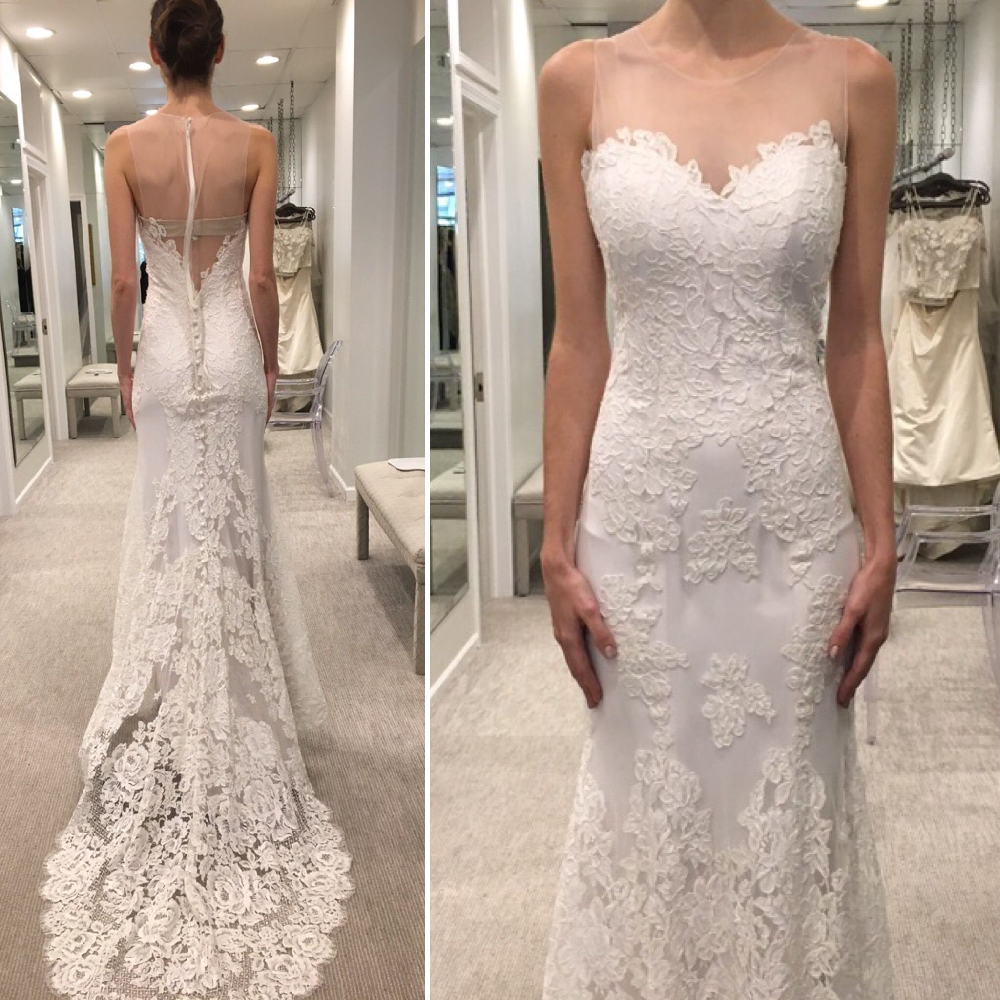 0f7d1bd36e6 Anna Maier Lydia or Lola. Find this Pin and more on Wedding Dress Shopping  ...