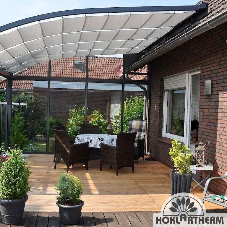 Terrassenüberdachung aus Aluminium & Glas günstig online