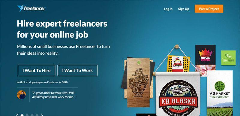 20 Of The Best Freelance Jobs Websites 2018 Freelancing Jobs Freelancer Website Online Jobs
