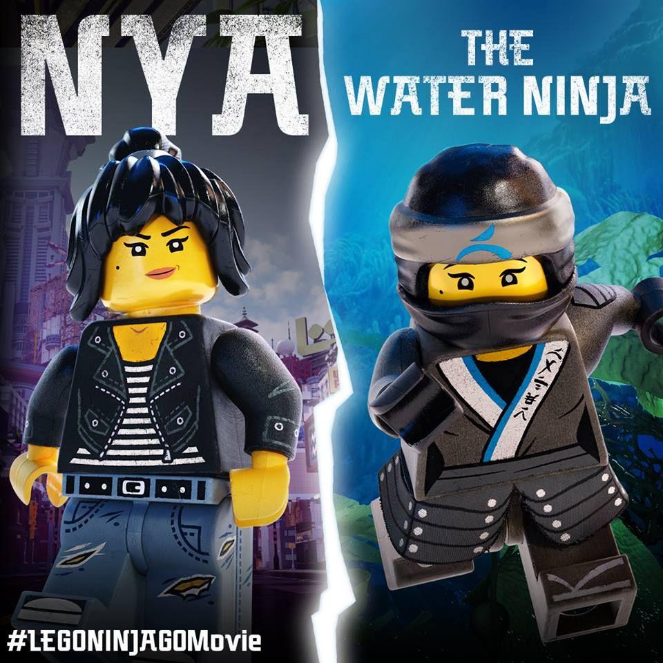 The Lego Ninjago Movie 2017 Photo Lego Ninjago Nya Lego Ninjago Movie Lego Ninjago