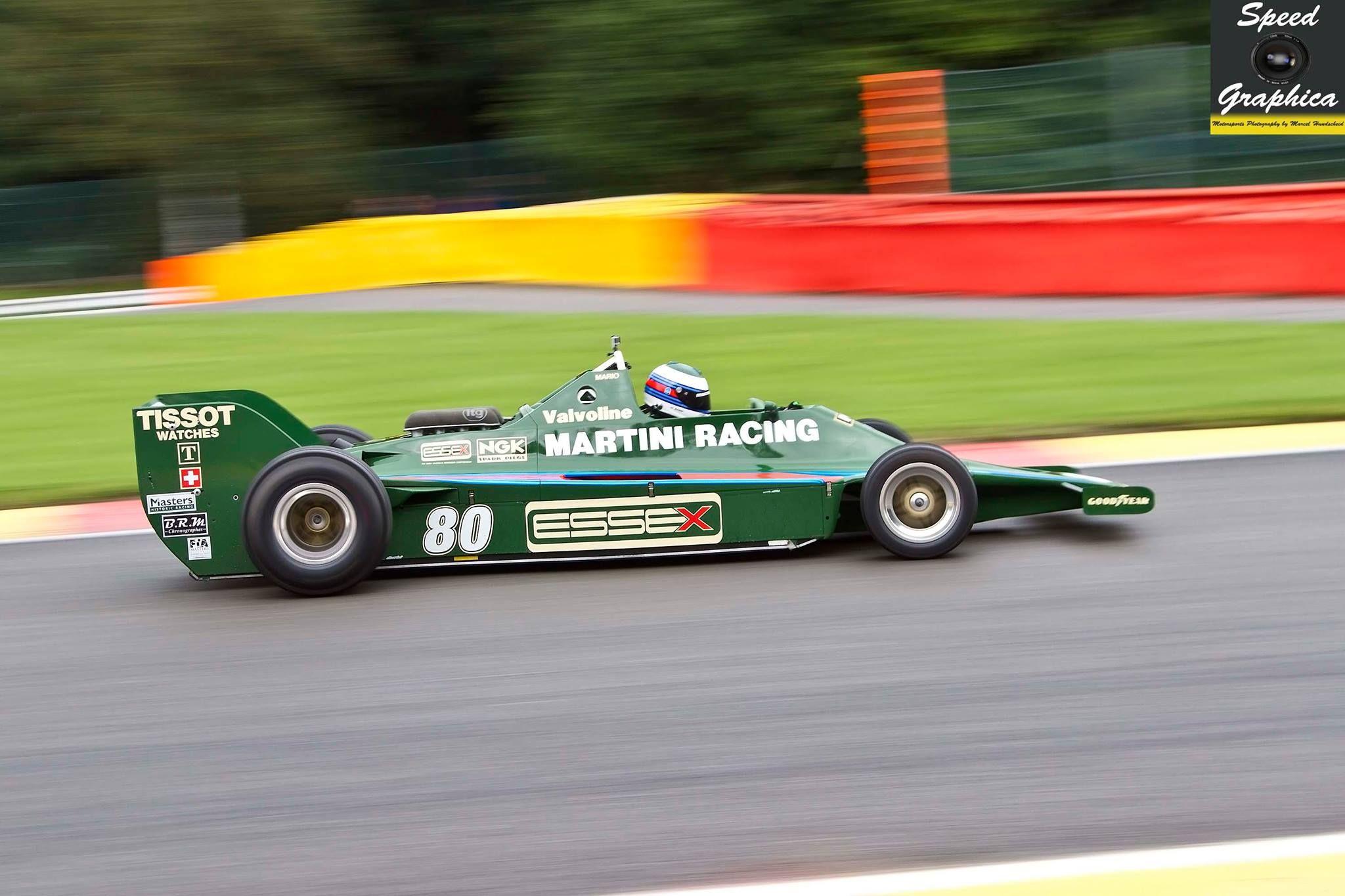 Lotus 80 from 1979-Manfredo Rossi di Montelera - FIA Masters Historic F1 Championship -Spa Six Hours 2015. FSC