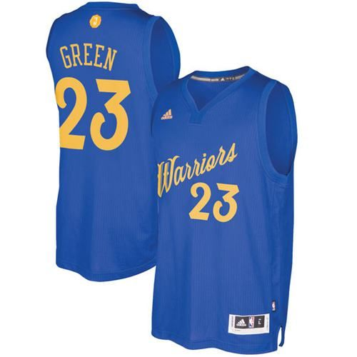 Warriors  23 Draymond Green Blue 2016-2017 Christmas Day Stitched NBA Jersey 70de3f215
