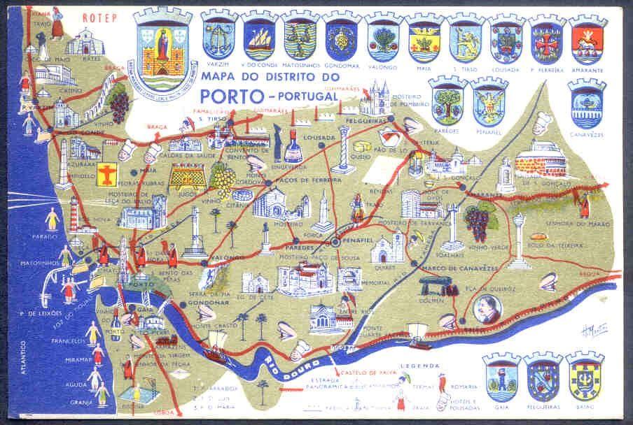 Oporto En El Mapa.Mapa Turistico Oporto Pdf Mapa Mapa Turistico Mapas Oporto