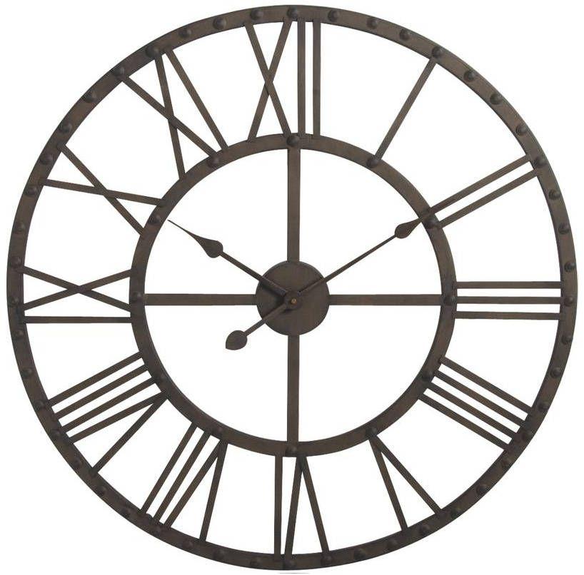 4f9c74375348a Horloge COTTAGE Naturel Blanc
