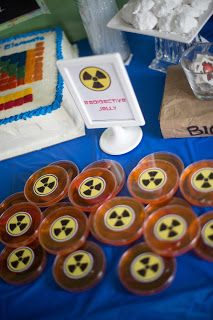 Party at the Beech: Caleb's Mad Science Party