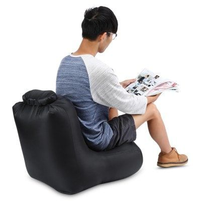 Share and Get It FREE Now | Join Gearbest |   Get YOUR FREE GB Points and Enjoy over 100,000 Top Products,CTSmart DL1620 Portable150kg Loading Inflatable Chair Sofa