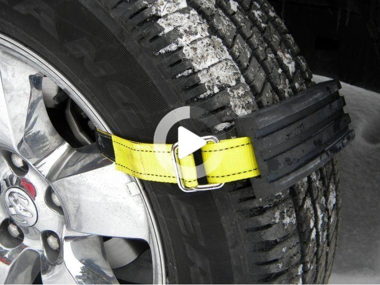 Tire Traction Straps 4x4 Large Mudder Tires Set of 4