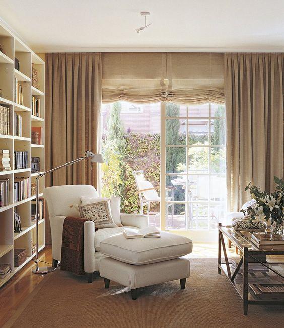 Ideas para crear tu rincón de lectura en casa Home  Spaces
