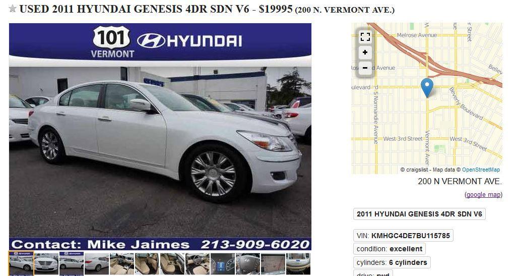 101 Vermont Hyundai – Los Angeles, CA … – Cars.com Contact Mike ...