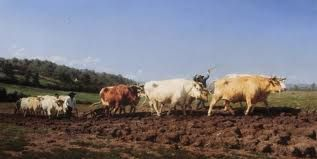 Rosa Bonheur - Plowing in the Nivernais, 1849
