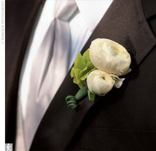 Bernardo's Flowers Inc.: Groom's Ranunculus Boutonniere