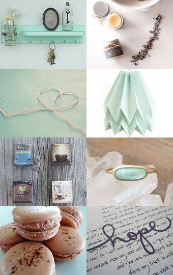Cappuccino by the Morning Sea by September Bijoux on Etsy--Pinned with TreasuryPin.com
