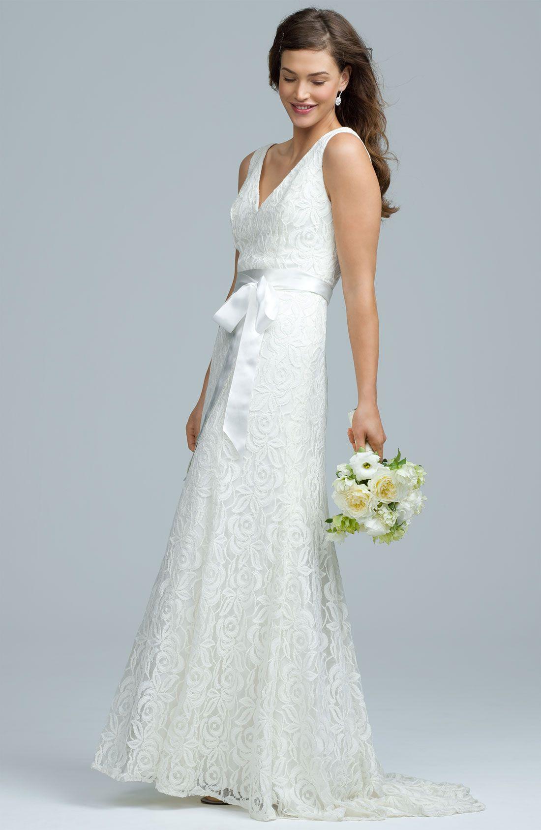 Knit wedding dress | vestidos crochet | Pinterest | Vestiditos