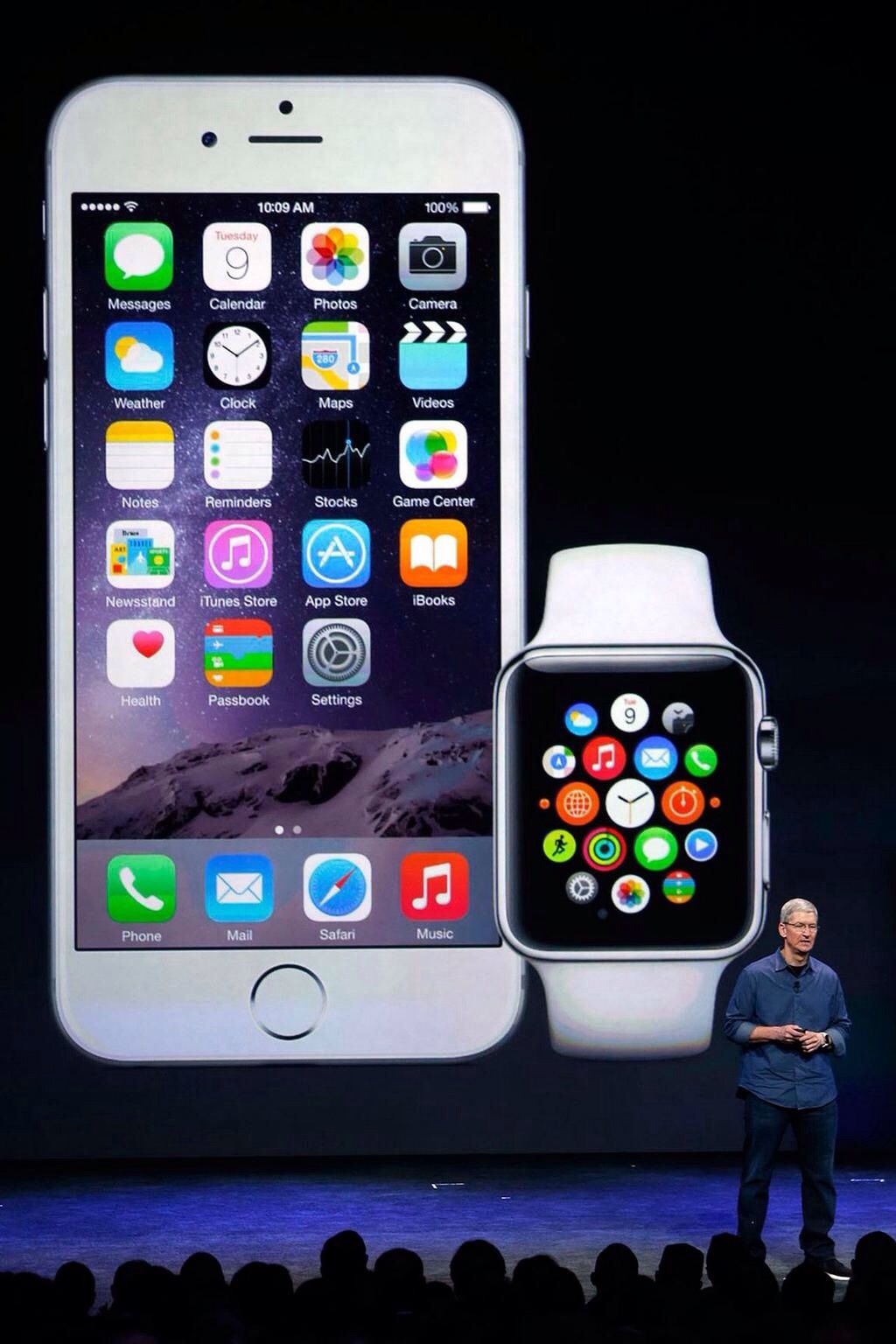 iPhone 6 and Apple Watch in pictures Apple watch, Iphone