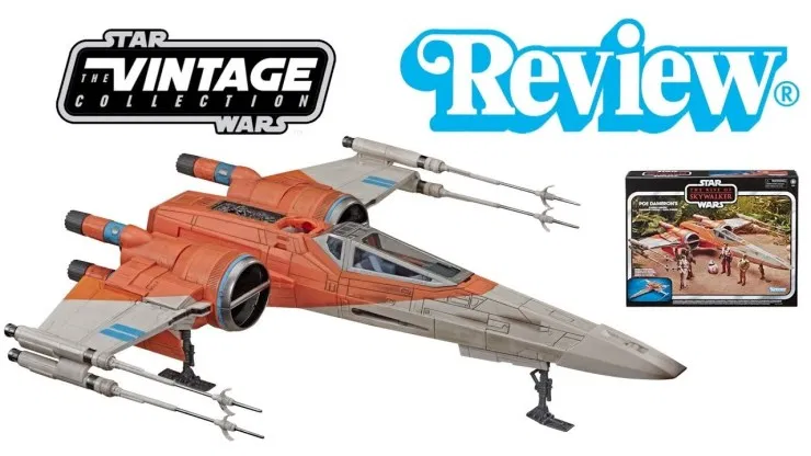Star Wars Vintage Collection Poe Dameron S X Wing Fighter Review Star Wars Saga