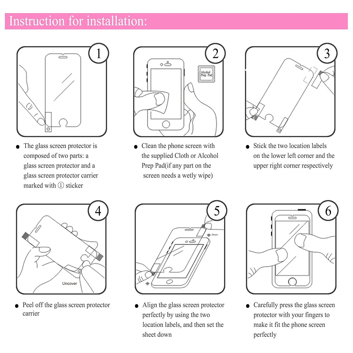 How To Apply A Screen Protector Screen Protector Phone Screen Protector Temper