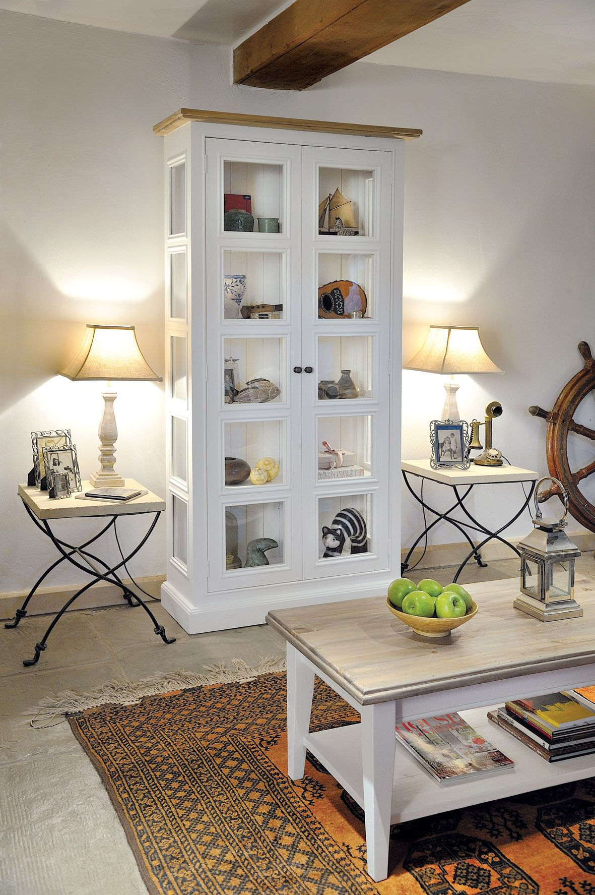 Our Snow White glazed display cabinet and coffee table :) | Tana\'s ...