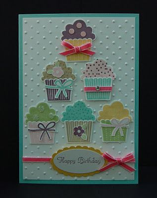 Julie's Japes - An Independent Stampin' Up! Demonstrator in the UK: Cupcakes and Sweet Treats!