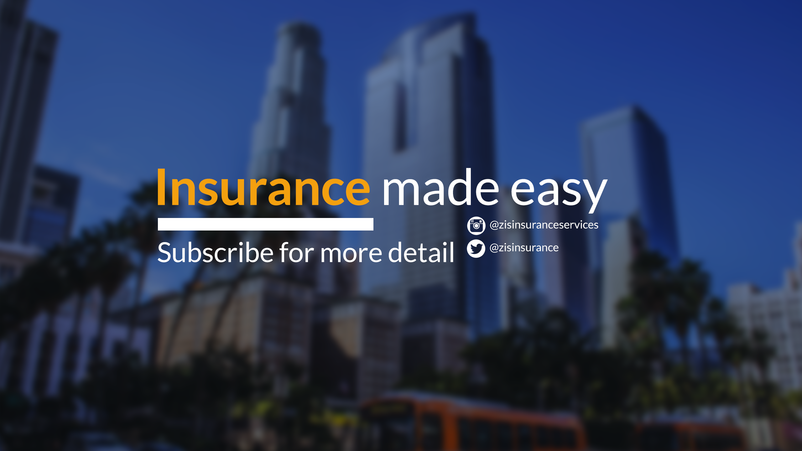 Subscribe To Zein Insurance Services Inc Youtube Channel And