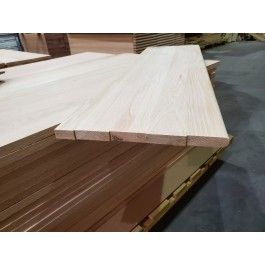 Best 3 4 X 12 X 42 Oak Stair Tread Traditional Treads And 400 x 300
