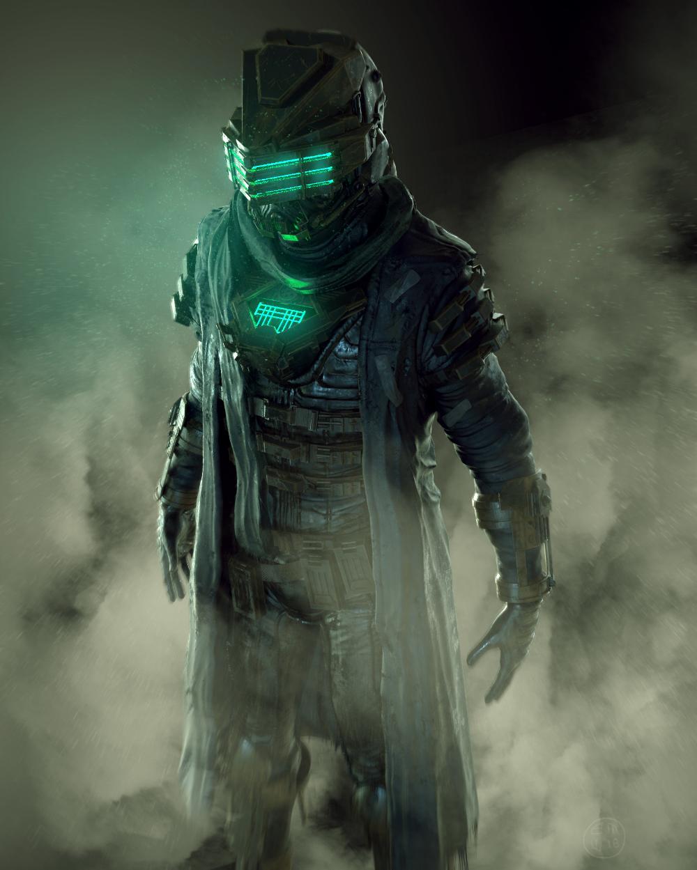 Artstation Dead Space Suit Ben Wanat Dead Space Suits Dead Space Space Suit