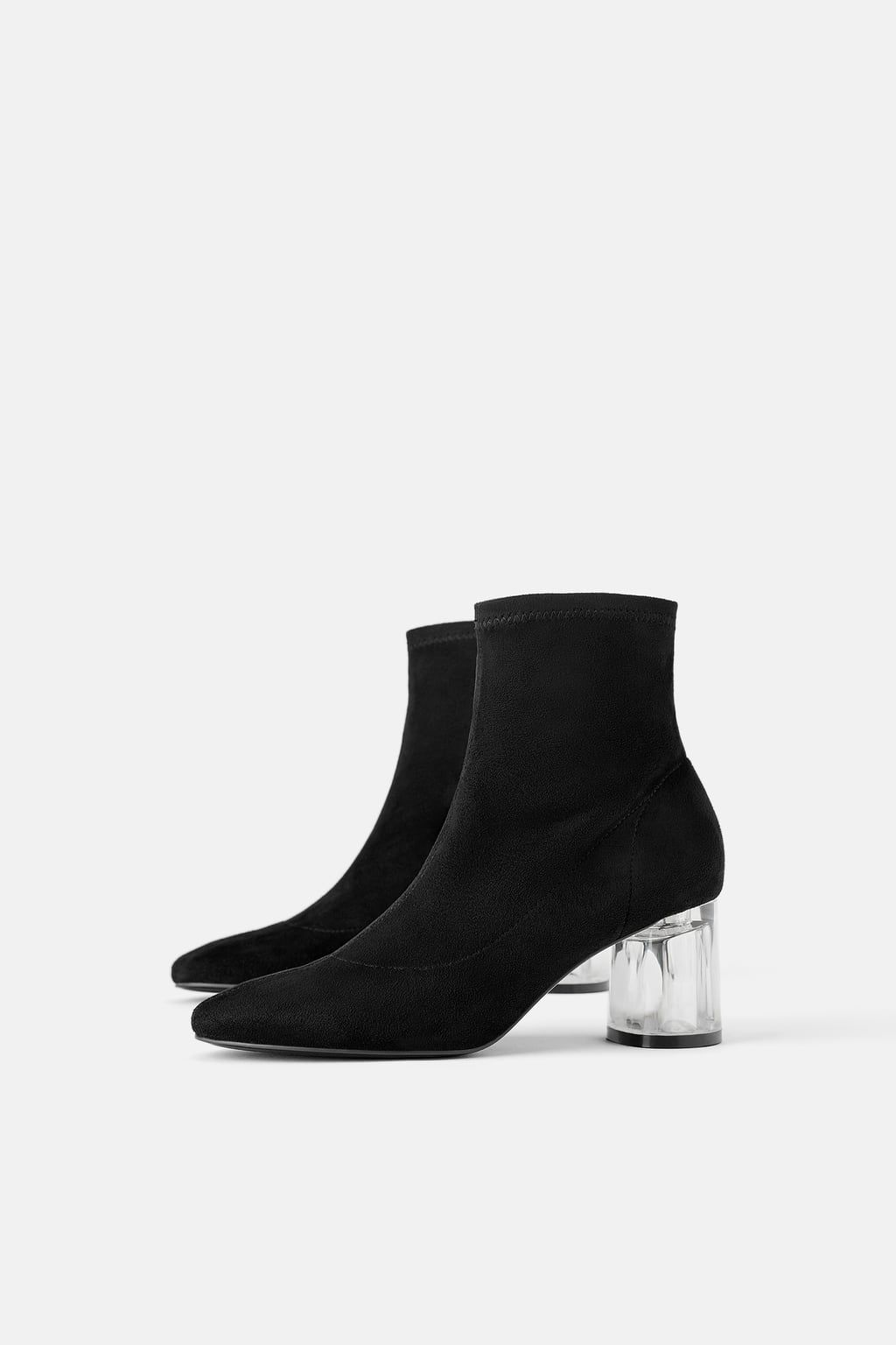 e659e056a98 METHACRYLATE-HEEL STRETCH ANKLE BOOTS-SPECIAL PRICES-WOMAN | ZARA  Switzerland