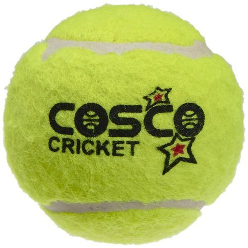 Cosco Light Weight Cricket Ball Pack Of 6 Yellow At Rs 299 From Amazon Cricket Balls Tennis Ball Cricket Store