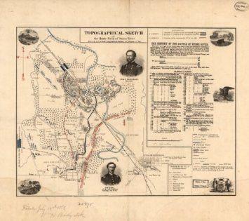 24x36 Vintage Reproduction Civil War Map Richmond /& Petersburg VA 1864