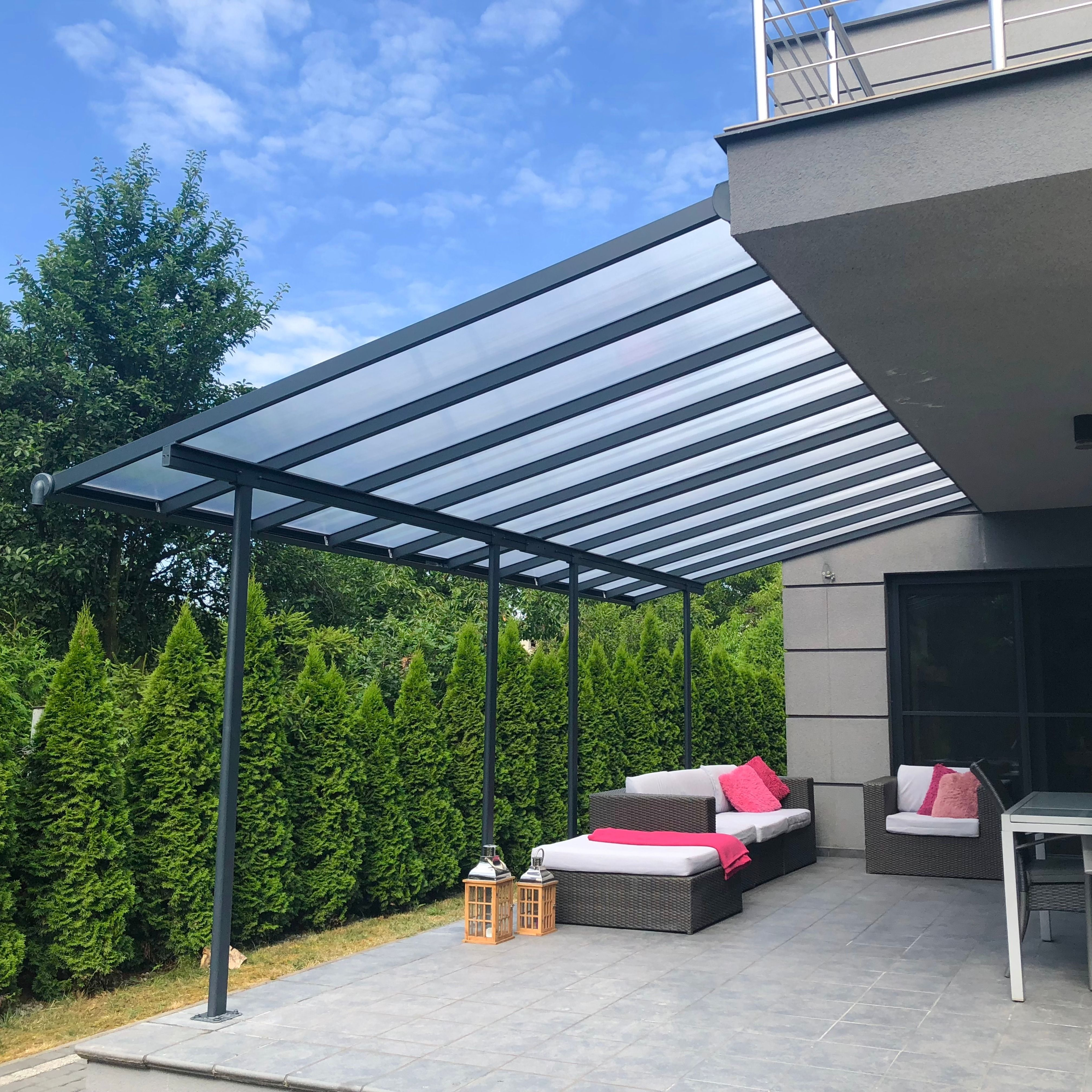 Zadaszenie Tarasu Z Aluminium Sierra Palram 3 X 5 46 M Biale Ogrodosfera Pl Outdoor Decor Outdoor Home