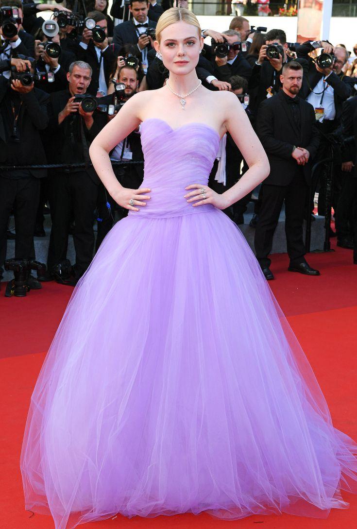 Elle Fanning Red Carpet Dresses Cannes Film Festival Fashion Fashion