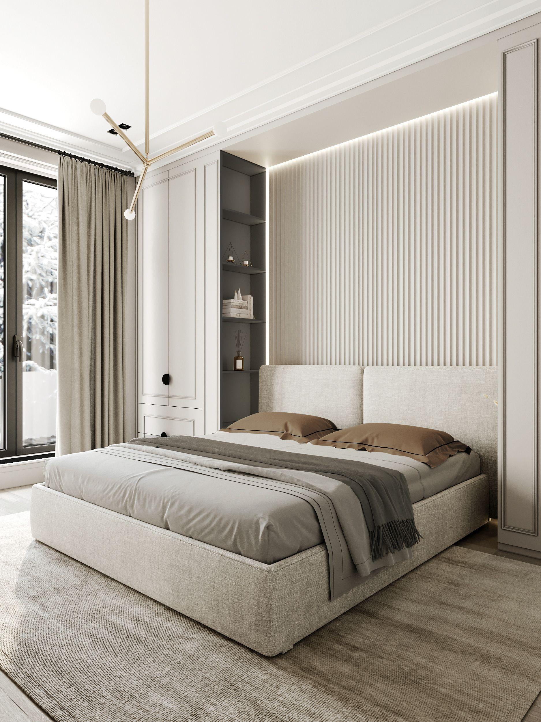 Park Avenue on Behance in 10  Modern luxury bedroom, Apartment