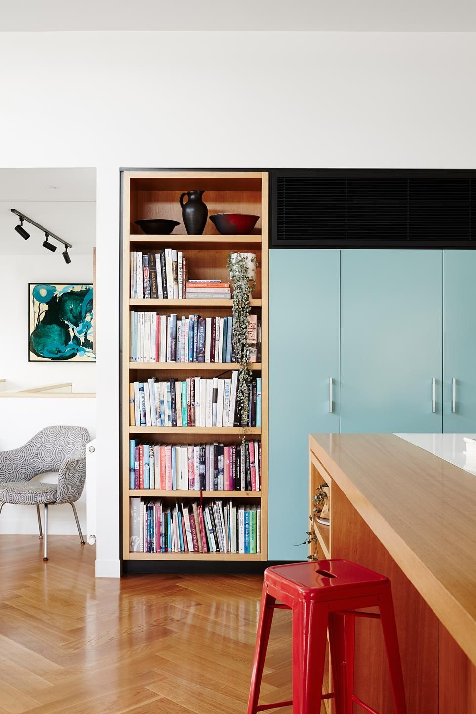 Modernist Melbourne Home With A Bespoke Colour Palette in